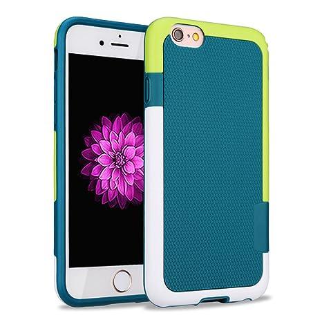 HanLuckyStars Funda iPhone 6s Plus TPU Funda Carcasa para iPhone 6/6s Plus, iPhone 6 Plus Funda con [Ultra Fina][Anti-Arañazos][Anti-Choques][Garantía ...