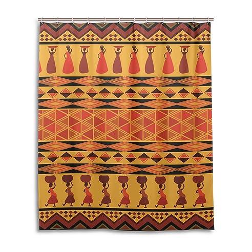 suabo polyester stoff vorhang fr die dusche wasserdicht dekorative badezimmer vorhang mit 12 haken 152 - Stoff Vorhang Dusche