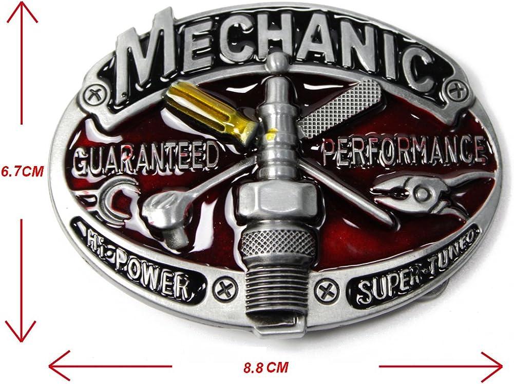 Aeon hum MECHANIC Belt Buckle GUARANTEED PERFORMANCE Accessory