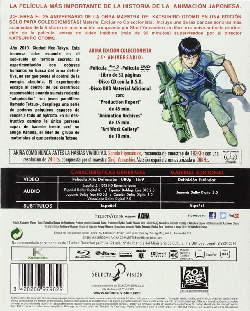 Amazon.com: Akira - Edición Coleccionista 25º Aniversario ...
