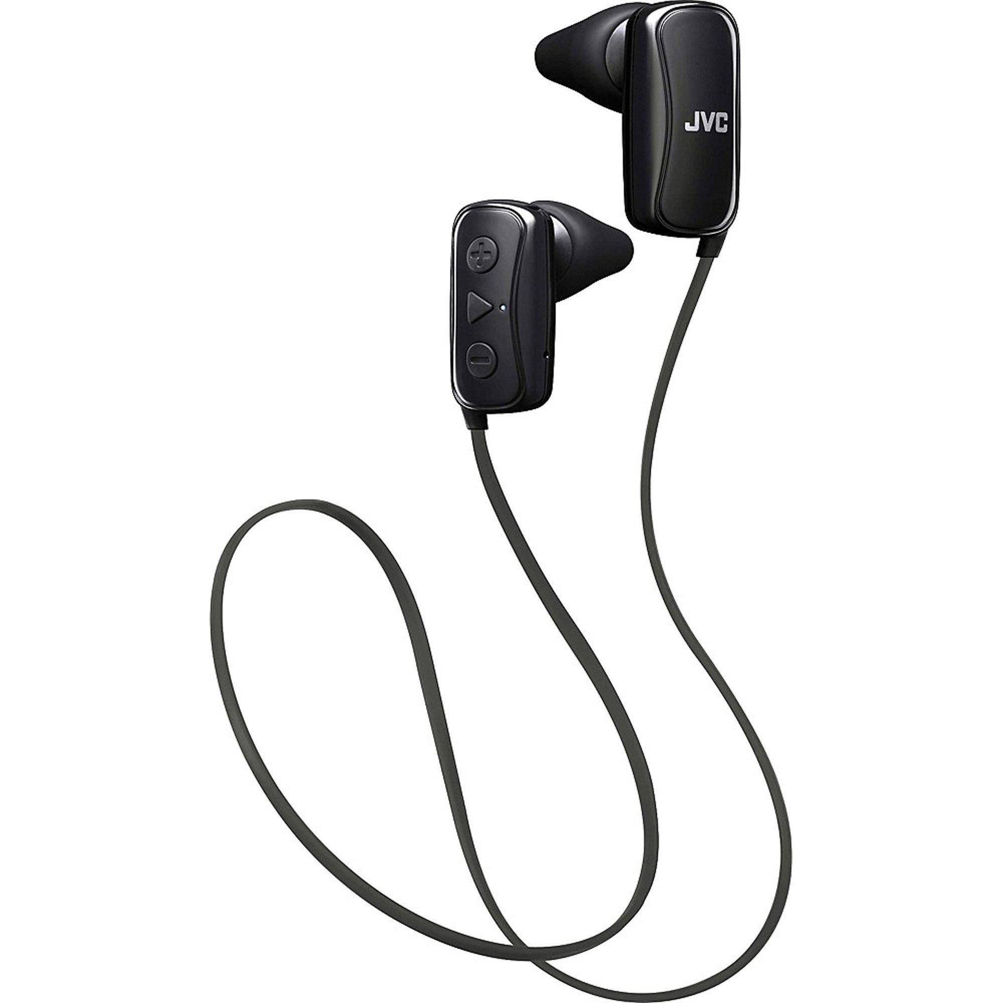 JVC HAF250BTB In-Ear Headphone, Bluetooth, Gumy - Black by JVC