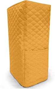 Kitchen Blender Cover, Dust-proof Organizer Quilted Cotton Blender Cover Kitchen Mixer Protector, Anti Fingerprint Mixer Covers. (Yellow)