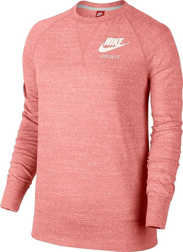 buy online 5a973 bf45d Nike Gym Vintage Crew Sweatshirt pour Femme  Amazon.fr  Sports et Loisirs