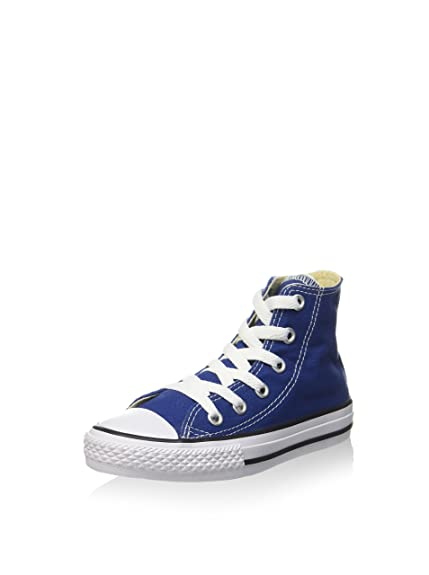 48665df5fffd CONVERSE - Blue lace-up sneakers made of fabric