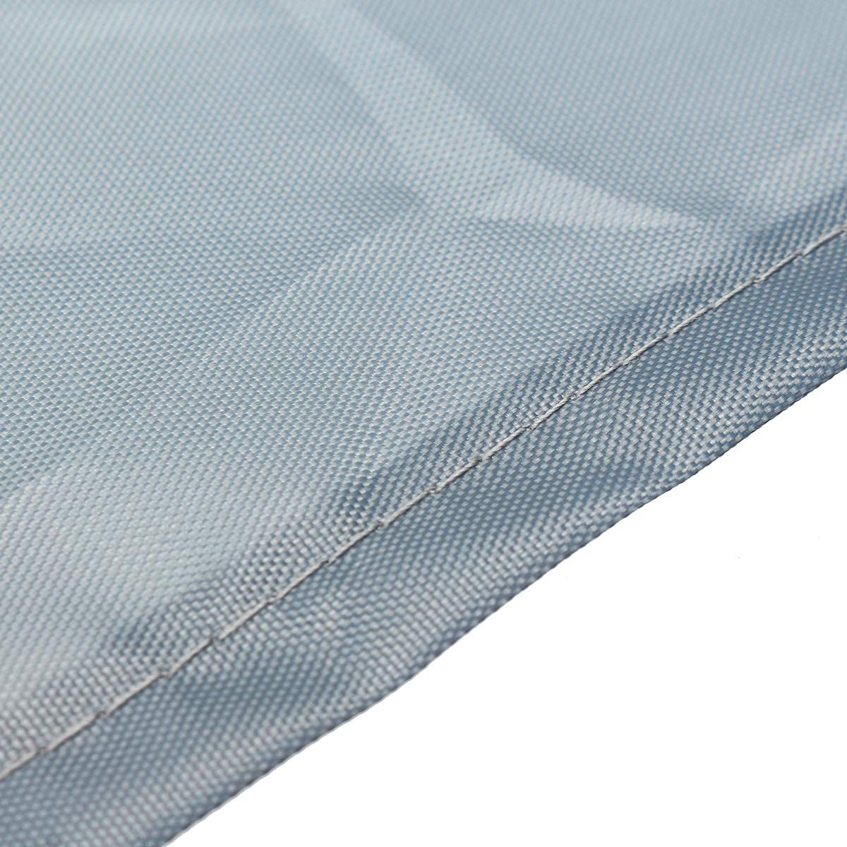 DDanke Housse de protection anti-poussi/ère pour auvent de terrasse Gris 2m