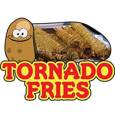 Amazon.com: Tornado patatas fritas Concesión calcomanía ...