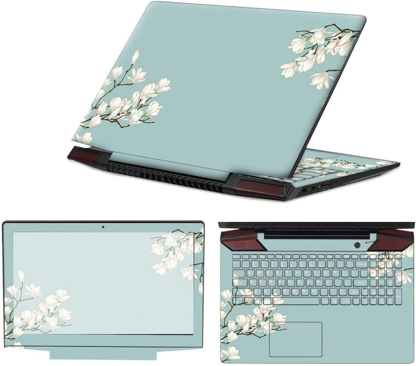 Amazon.com: 3 Sides Laptop Skin Notebook Stickers Compatible ...