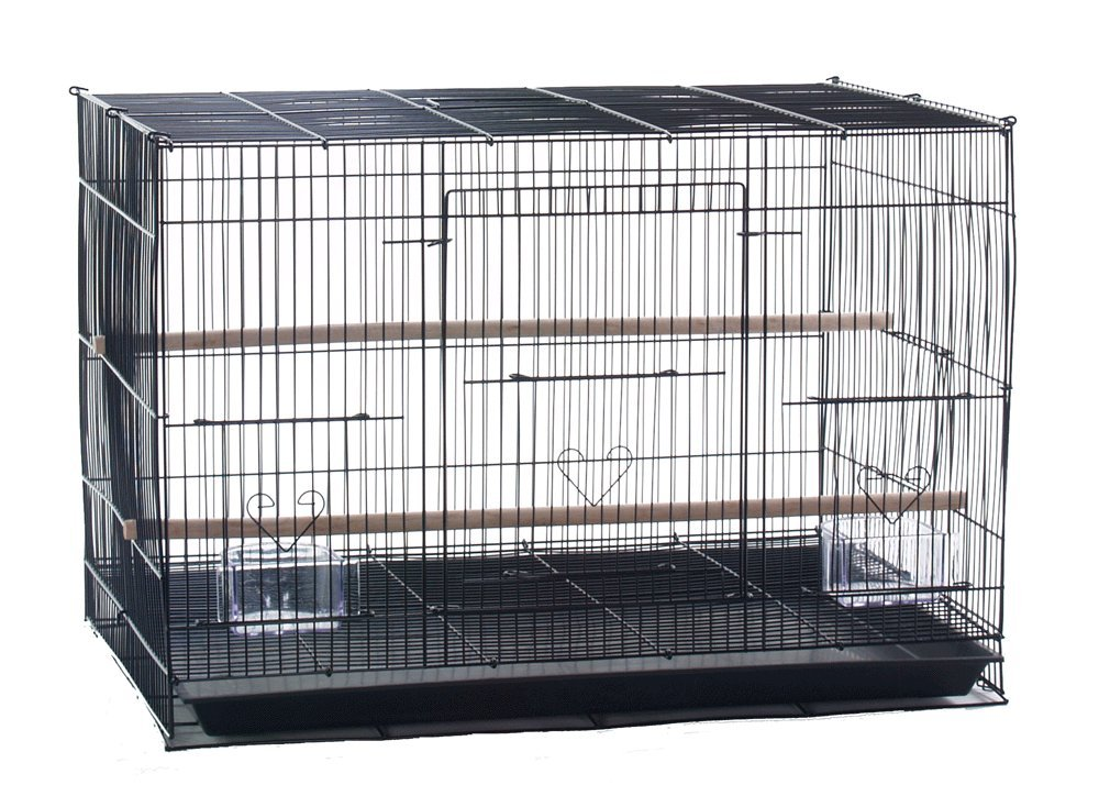 Finch Parakeet Canary Cockatiel Breeding Cage 24 by 16 by 16 inch H CageMart