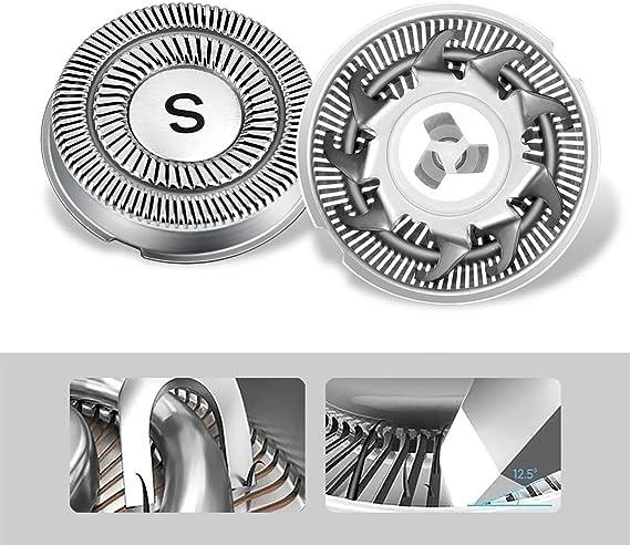 SWEETLF RMS7105 Cabezales de afeitadoras: Amazon.es: Belleza