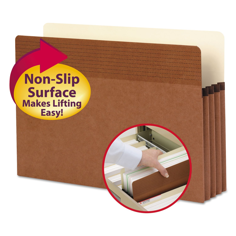 SMD73210 - Smead 73210 Redrope Easy Grip File Pockets by Smead