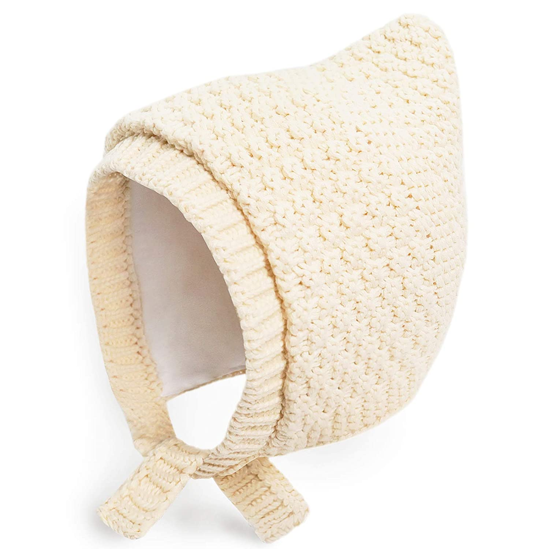 Happy Tree Baby Hat Bonnet Warm Knit Infant Toddler Winter Hat Beanie Cap (3-12 Months) BB51