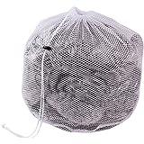Hengsong Kleider Unterwäsche Socken Mesh Wäschebeutel Wäschesäcke Wäschenetz mit Zugkordel für die Waschmaschine (XL, Coarse mesh)