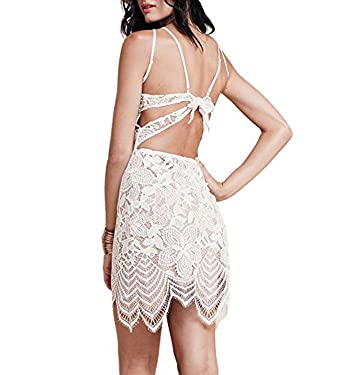 Amazon.com: DEARCASE Women's Summer Dresses Sleeveless Backless ...
