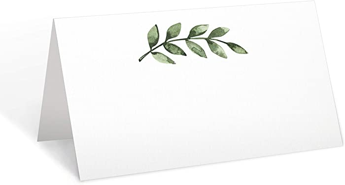 321Done Greenery Place Cards 3.5