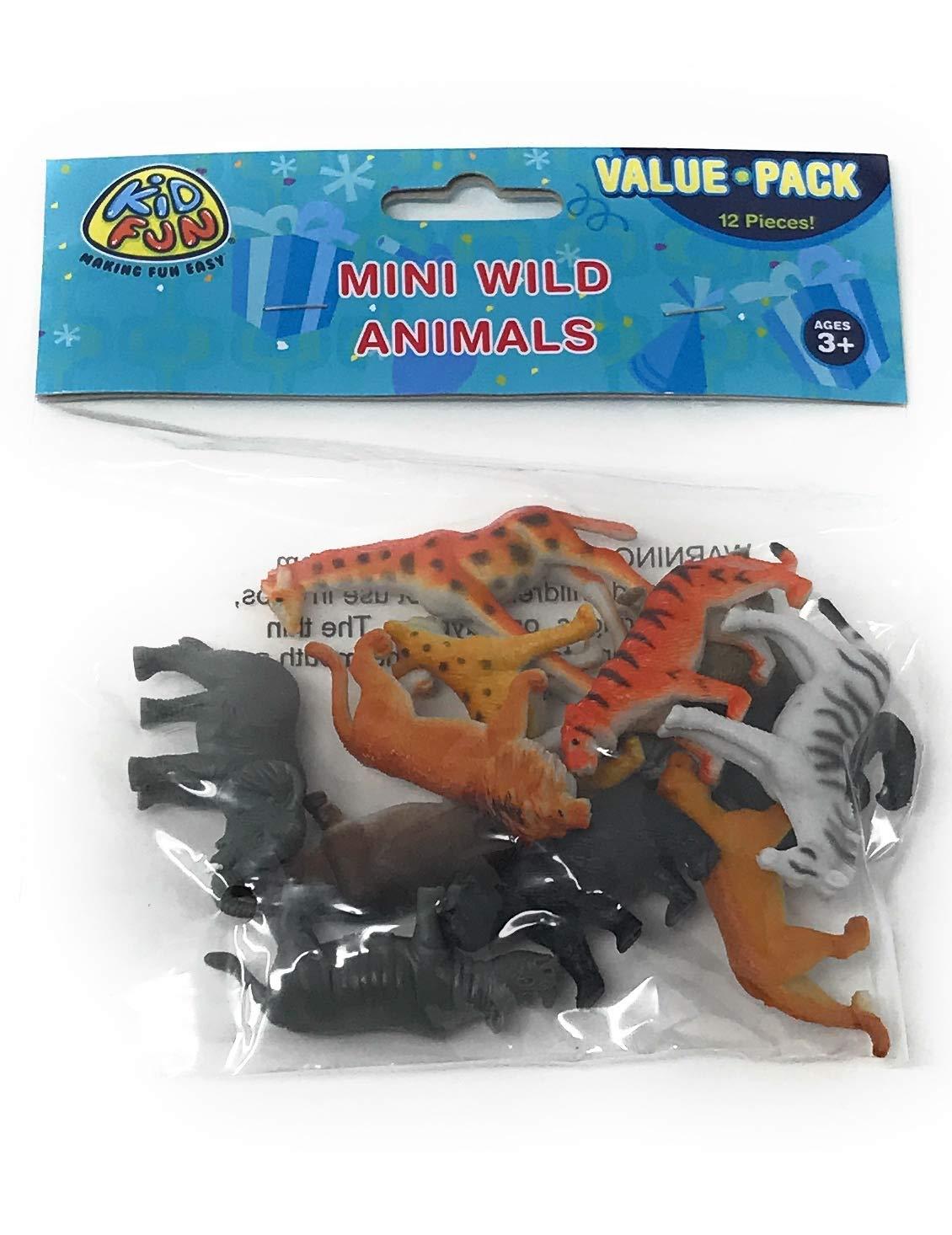 US Toy Mini Wild Animals Action Figure