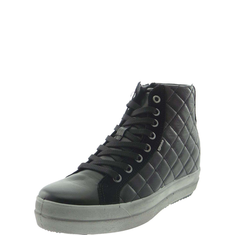 IGI&CO 4802000 scarpe da da da ginnastica Donna Ecopelle Nero d962eb