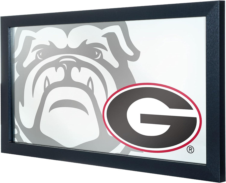 Trademark Gameroom University of Georgia Framed Logo Mirror Text