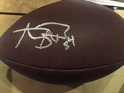 2c8f80c5e Antonio Brown Autographed Signed Football Pittsburgh Steelers Autographed  Signed NFL Star Wr Memorabilia - JSA Authentic