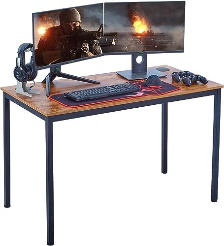 BOLDSTUFF Computer Desk Study Writing PC Laptop Table Workstation