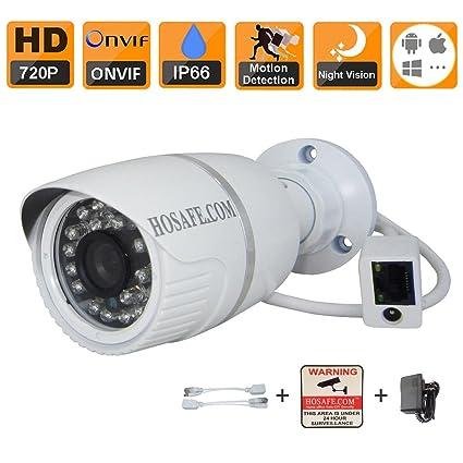 HOSAFE 720P HD Cámara IP de interior / exterior de vigilancia de seguridad de la cámara