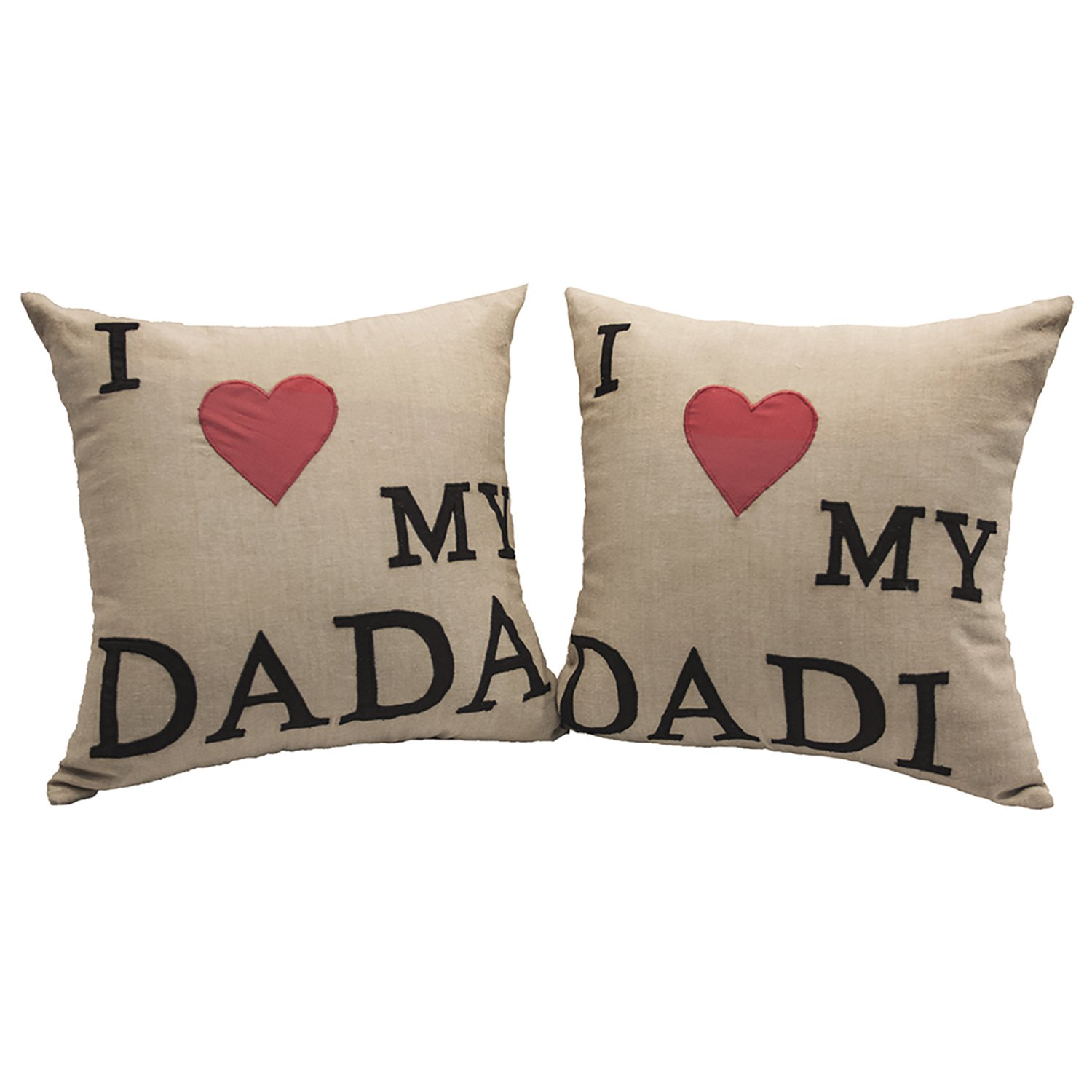 Buy I love my DADA DADI Cushion SET Online at Low Prices in India ...