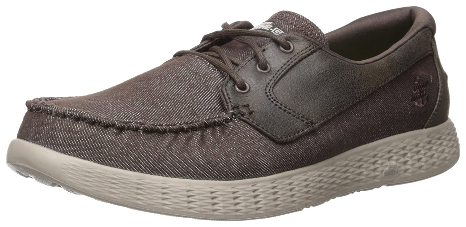 Skechers On The Go Glide Chocolate 53770CHOC, Zapatos del barco 43 EU