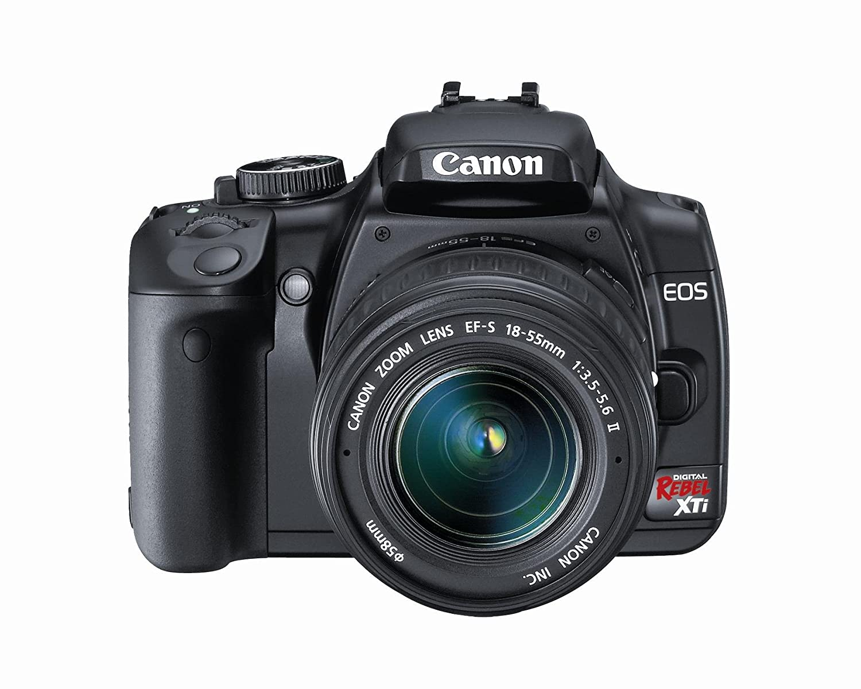Amazon.com : Canon Rebel XTi DSLR Camera with EF-S 18-55mm f/3.5-5.6 Lens  (OLD MODEL) : Dslr : Camera & Photo