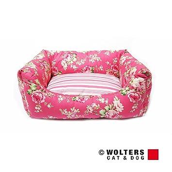 wolters Rose Elisabeth plástico Perros cama cama para perros Perros cesta perros sofá - Rosé: Amazon.es: Jardín