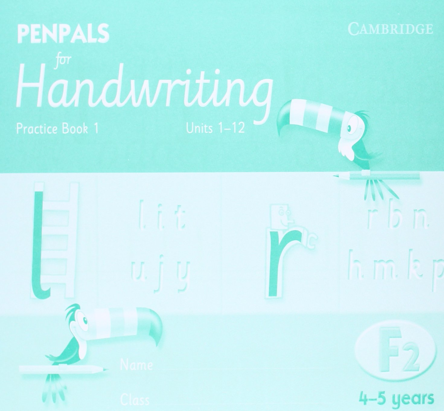 Download Penpals for Handwriting Foundation 2 Practice Book 1 (Pack of 10) PDF