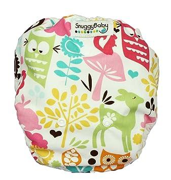 Amazon.com: Snuggy bebé AI2 Pañal Tapa – de búhos: Baby