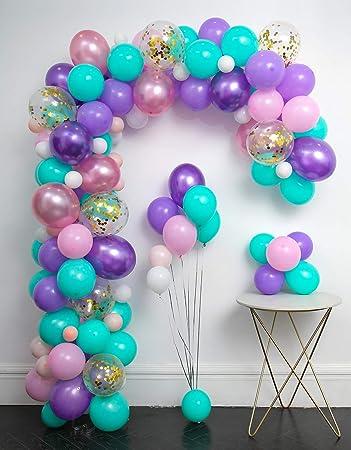 Amazon.com: Juego de globos de unicornio y guirnalda de 114 ...