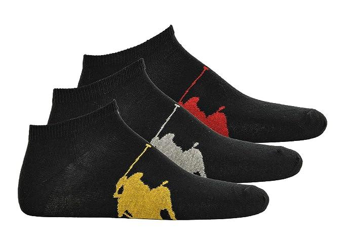 Polo Ralph Lauren Herren Sneakersocken, 3er Pack One Size