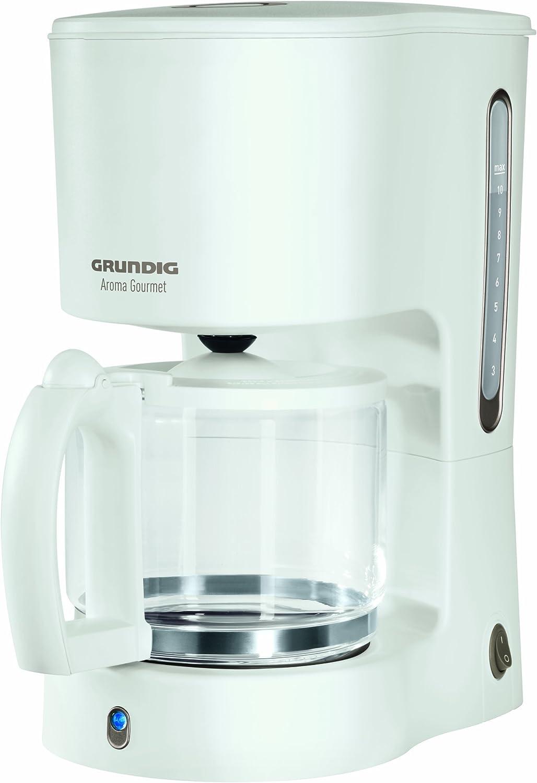 Grundig KM 4260 - Cafetera (Cafetera de filtro, 1,25 L, 1000 W ...