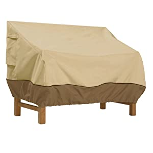 Classic Accessories Veranda Patio Bench Cover, Small
