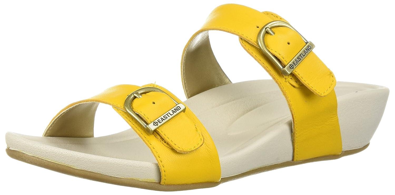 Eastland Women's Cape Ann Slide Sandal B076QN9TKT 10 B(M) US|Yellow