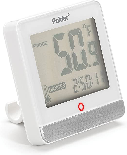 Polder THM-995-90 - Termómetro digital dual para frigorífico ...