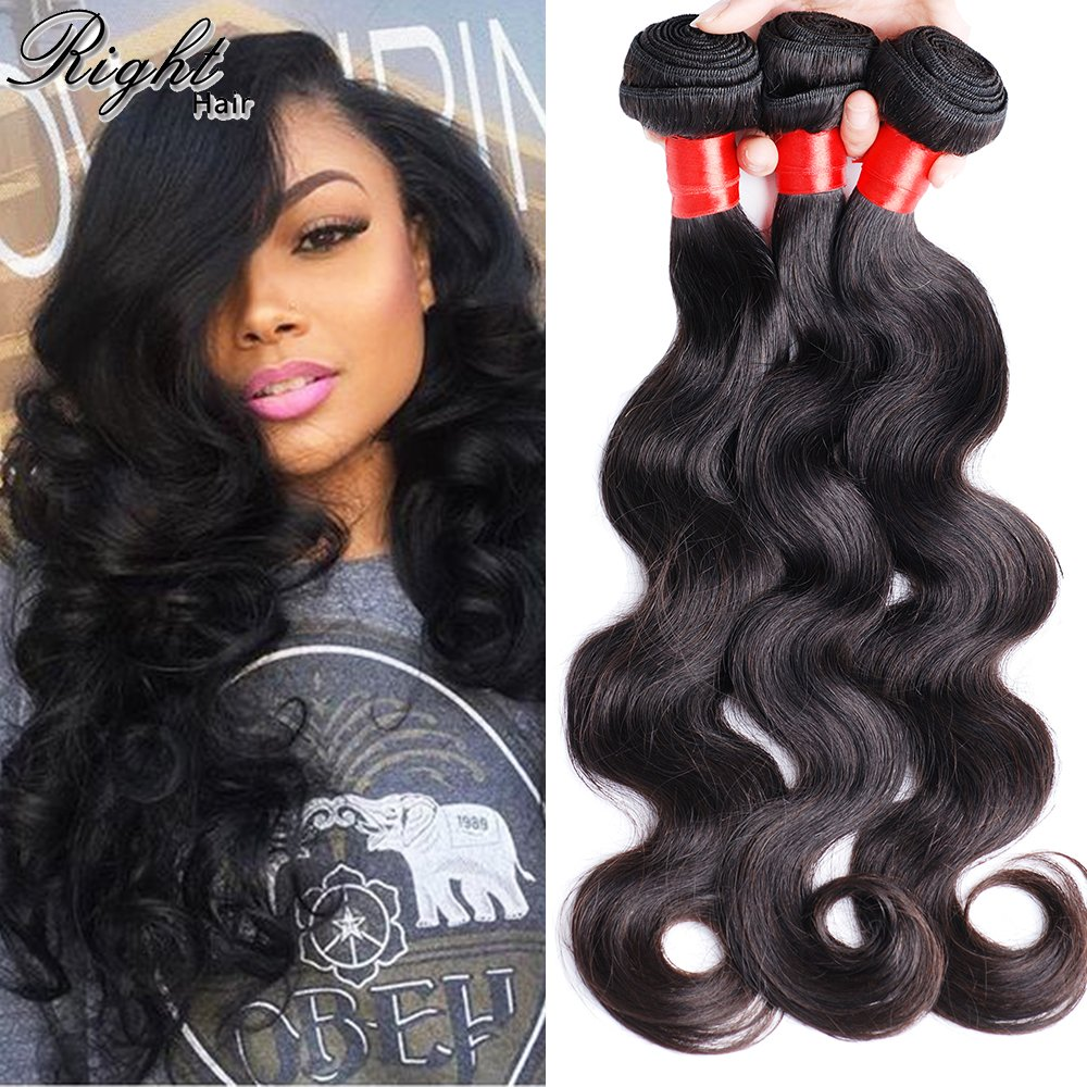 Amazon Right Hair 10a Virgin Brazilian Hair Body Wave 3