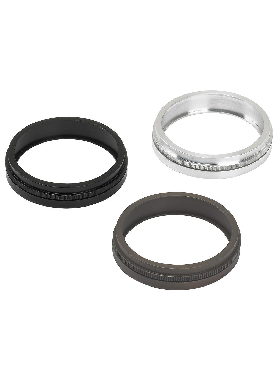 black Louver Lens Holder