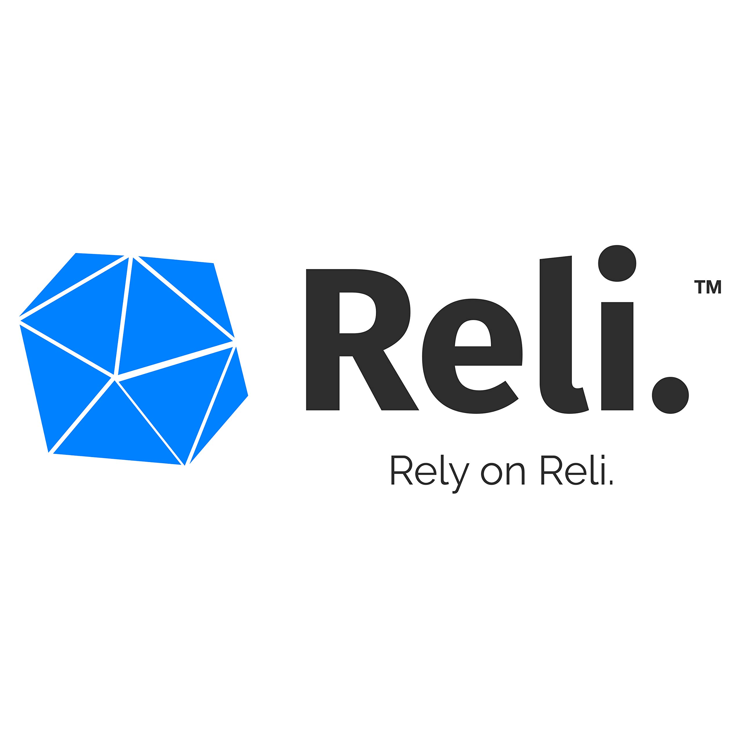 Reli. Premium Thickness Trash Bags, 40-45 Gallon (150 Count) (Black) - Easy Grab Rolls - Can Liners, Garbage Bags with 40 Gallon (40 Gal) to 45 Gallon (45 Gal) Capacity by Reli. (Image #6)