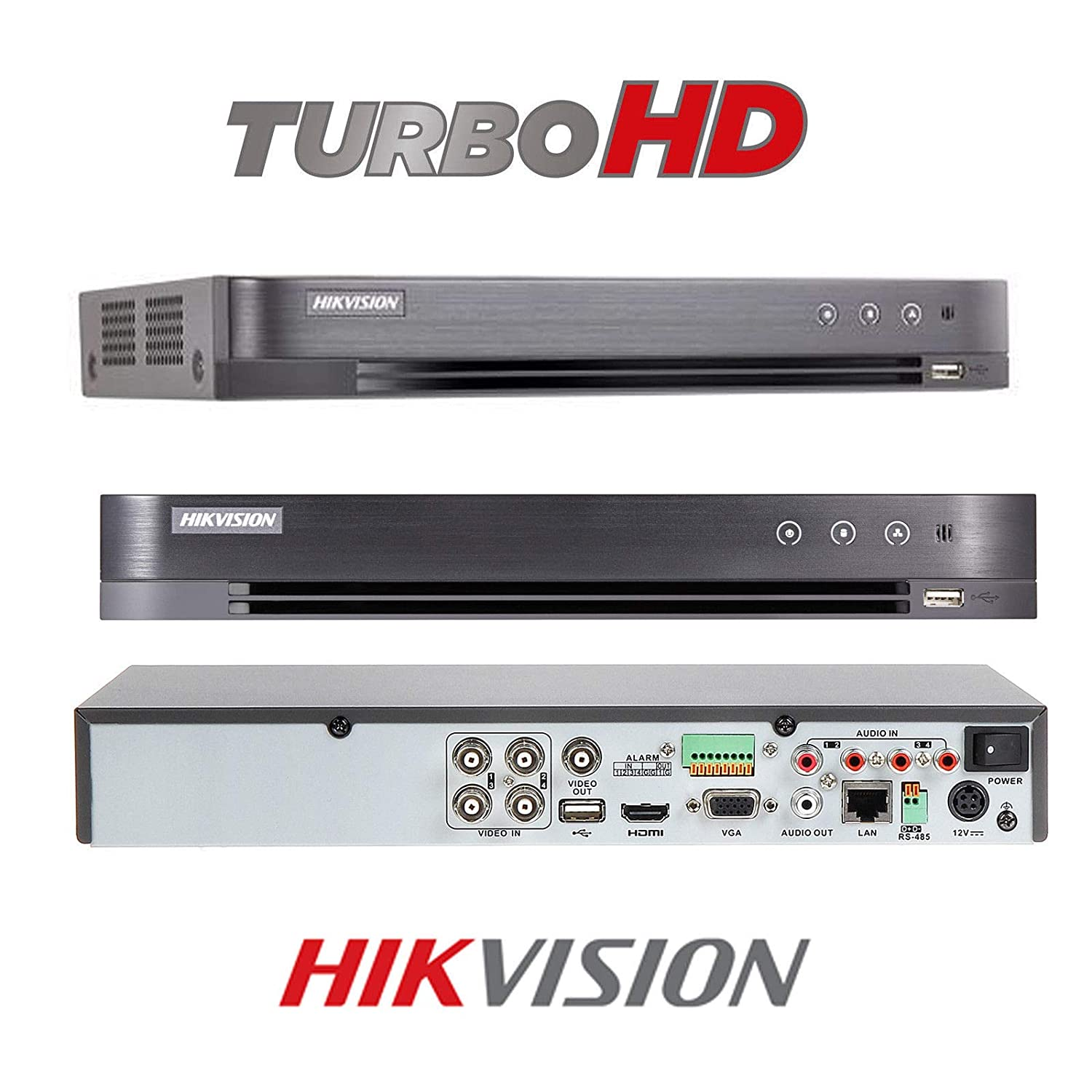 HIKVISION CCTV SYSTEM 1080P FULL HD KIT PACKAGE INC 1TB HDD 4X SECURITY  CAMERA OUTDOOR 2 4 MEGA PIXEL DOME 4CH DVR HDMI P2P