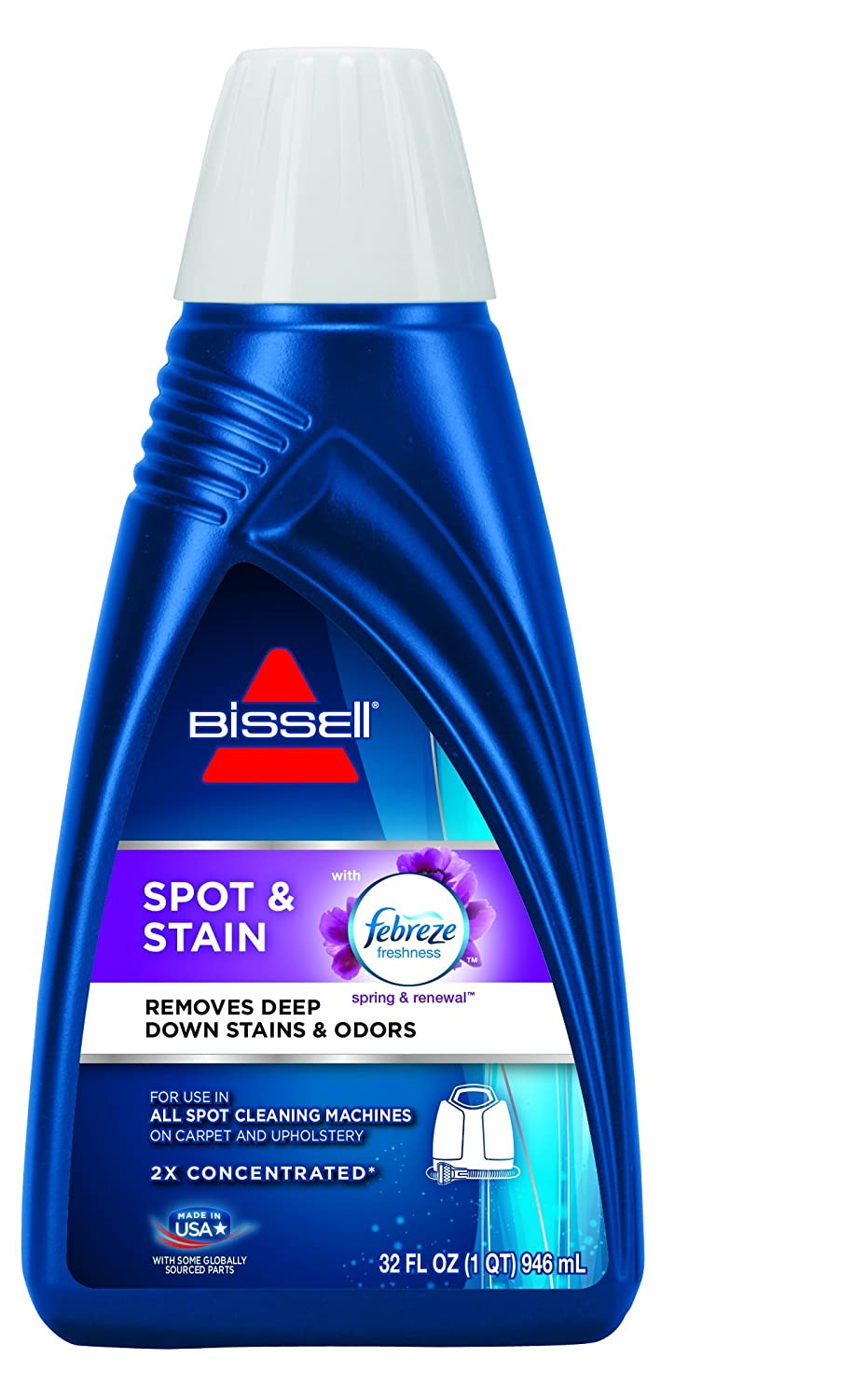 BISSELL Spot & Stain with Febreze Freshness Spring & Renewal Formula, 7149, 32 ounces