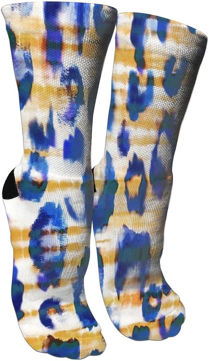 Crazy Socks Tie Dye 3D Crew Socks