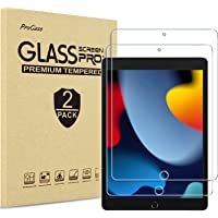 [2 Pack] ProCase iPad 10.2 9th Generation 2021/ 8th 2020/ 7th 2019) Screen Protector, Tempered Glass Screen Film Guard…