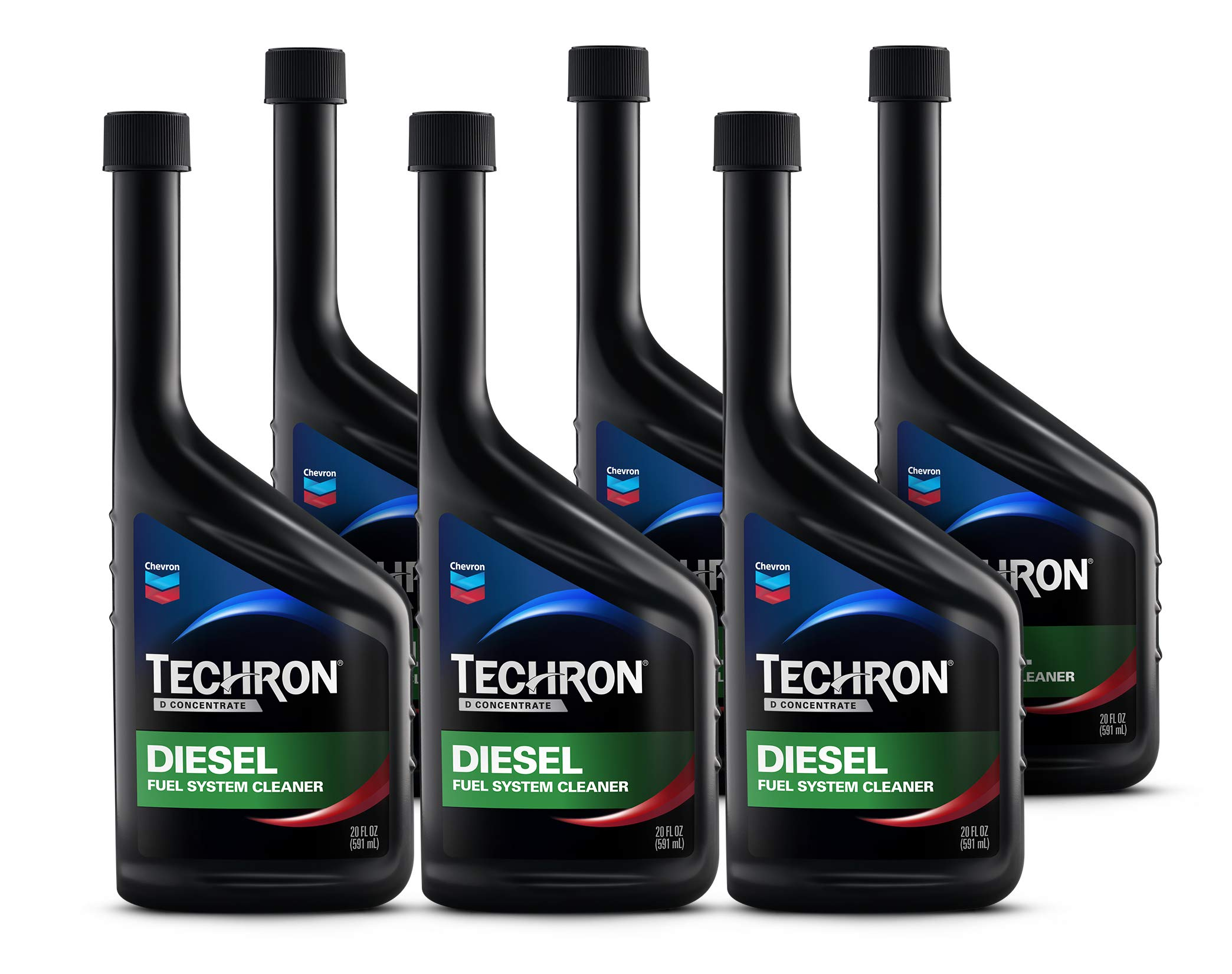 Techron D Concentrate Diesel Fuel System Cleaner, 20 fl. oz., 6 Pack by TECHRON