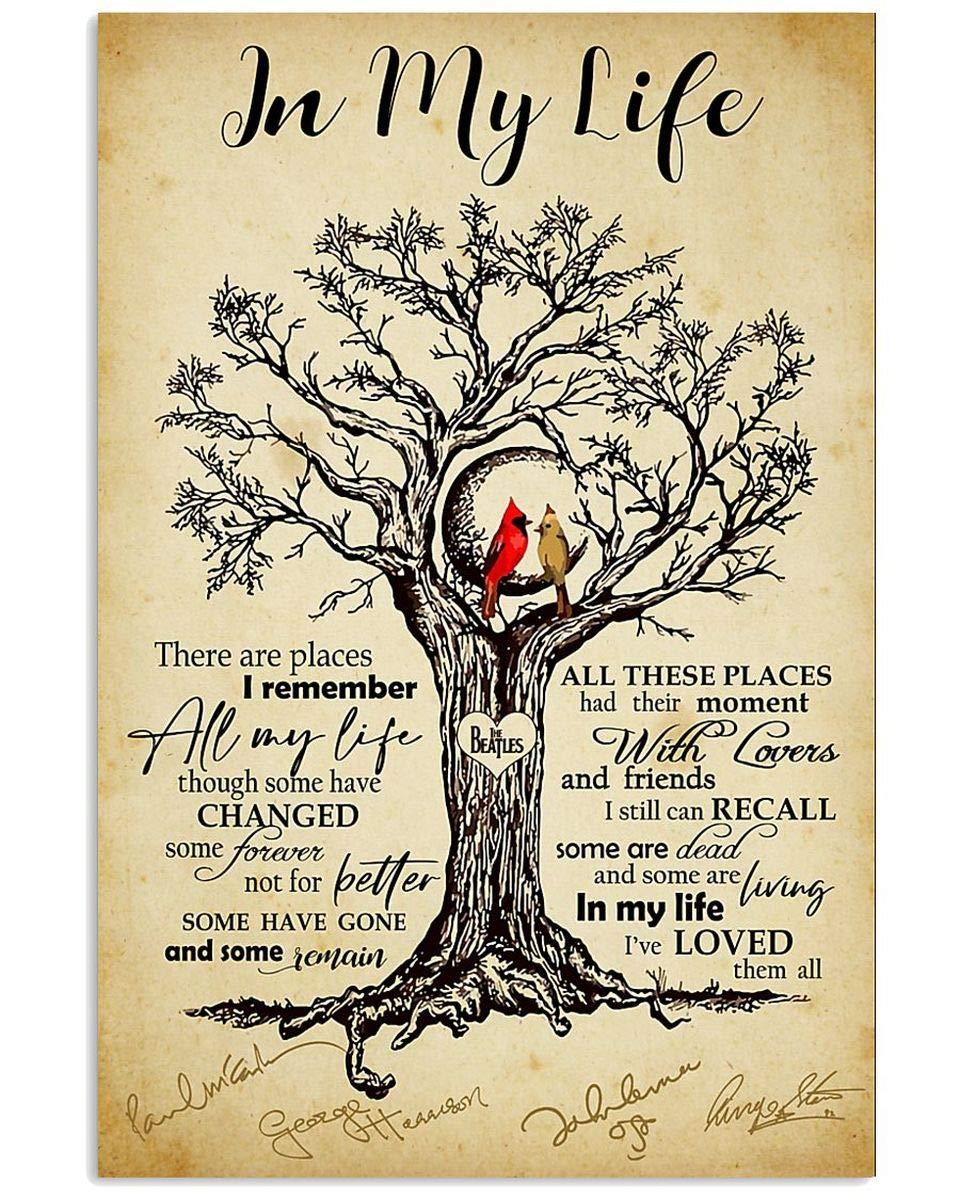 life guitar lyrics horizontal poster