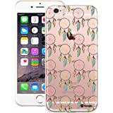 Customizable Hamee Original Designer Cover Thin Fit Crystal Clear Plastic Hard Back Case for Apple iPhone 6 / 6s (Dreamcatchers)