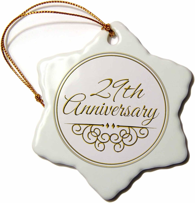 Amazon Com 3drose Orn 154471 1 29th Gold Text Celebrating Wedding