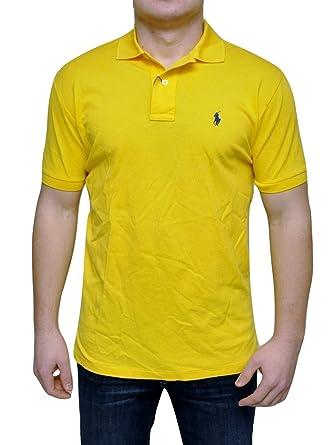 Ralph Shirt Stretch Polo Pima Cotton Mesh T Lauren Nnwv80m