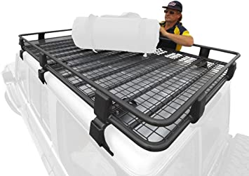 Amazon Com Arb 3813010 Steel Roof Rack Basket Automotive