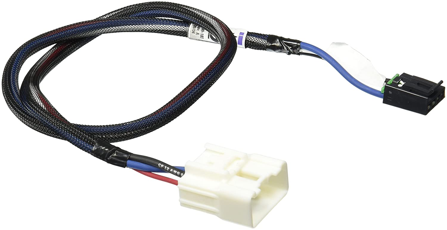 Tekonsha 3017 P Trailer Brake Control Wiring Harness 2 Plugs Toyota 4runner Adaptor Automotive